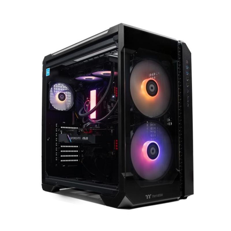 Thermaltake Rapture PRO i7 10700KF RTX2070 Super 500GB SSD + 2TB HDD 16GB W10H Gaming Desktop PC (CA-4U1-00D1WA-00)