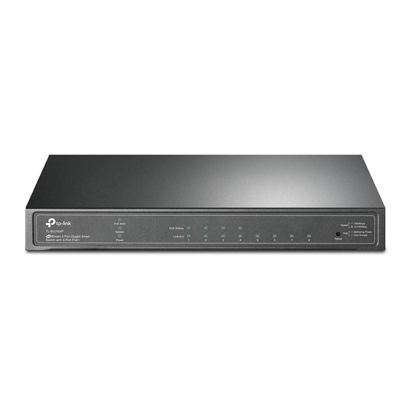 TP-Link JetStream 8 Port Gigabit Switch (TL-SG2008P)