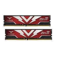 Team 64GB (2x32GB) TTZD464G2666HC19DC01 T-Force Zeus 2666MHz DDR4 RAM - Red