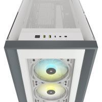 Corsair 5000X RGB TG Mid Tower E-ATX Case - White