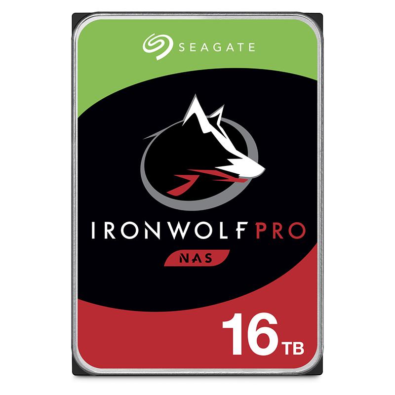 Seagate 16TB Ironwolf Pro 3.5in SATA 7200RPM NAS Hard Drive - ST16000NE000