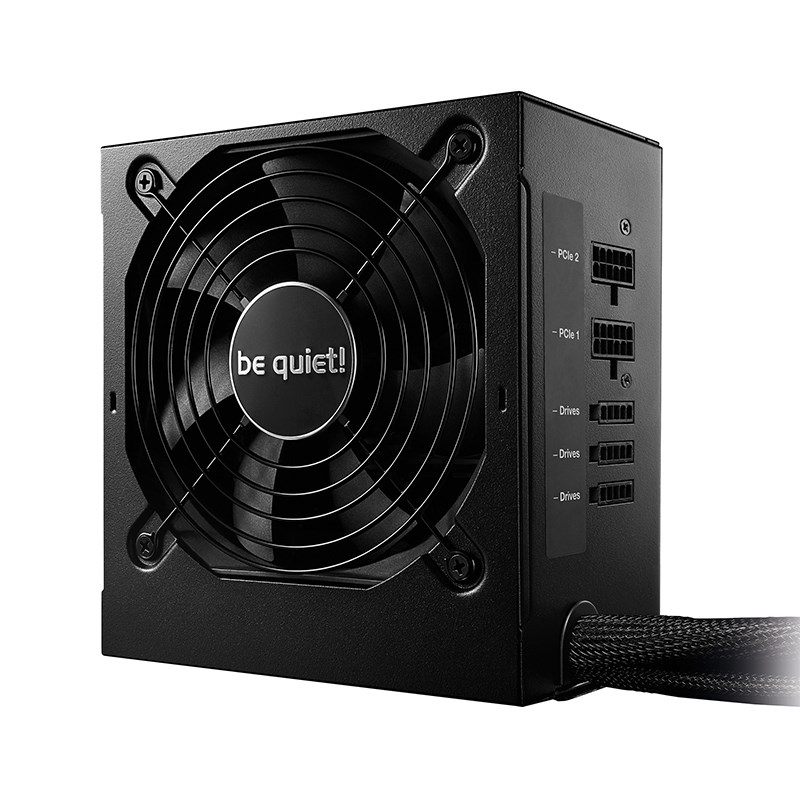 be quiet! 600W System Power 9 80+ Bronze Power Supply (BN920)