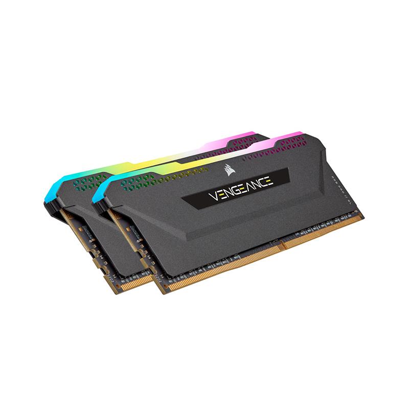 Corsair 32GB (2x16GB) CMH32GX4M2E3200C16 Vengeance RGB Pro SL 3200MHz DDR4 RAM