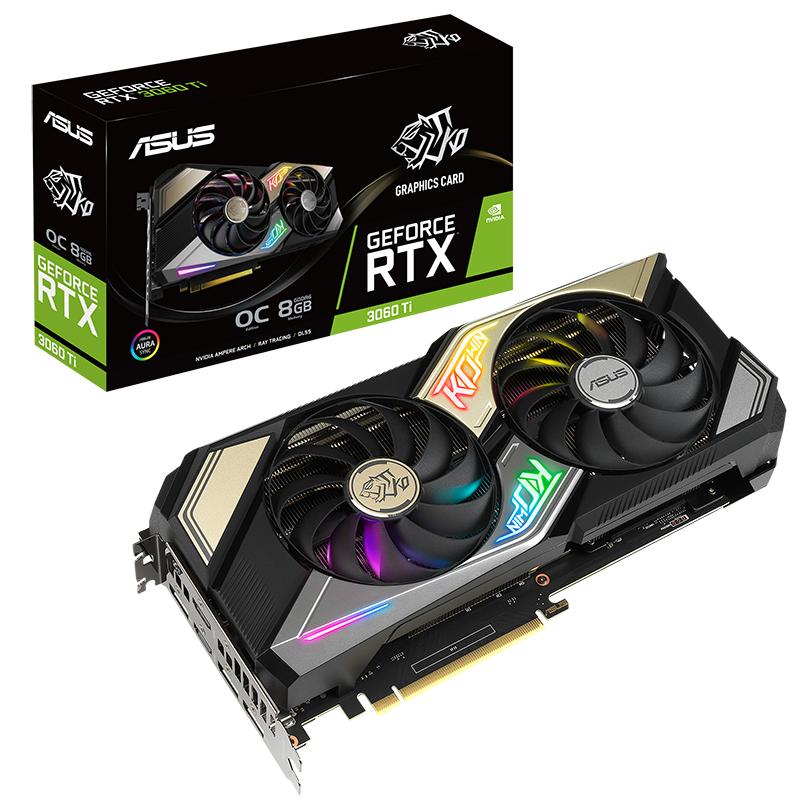 Asus GeForce RTX 3060 Ti KO 8G OC Graphics Card
