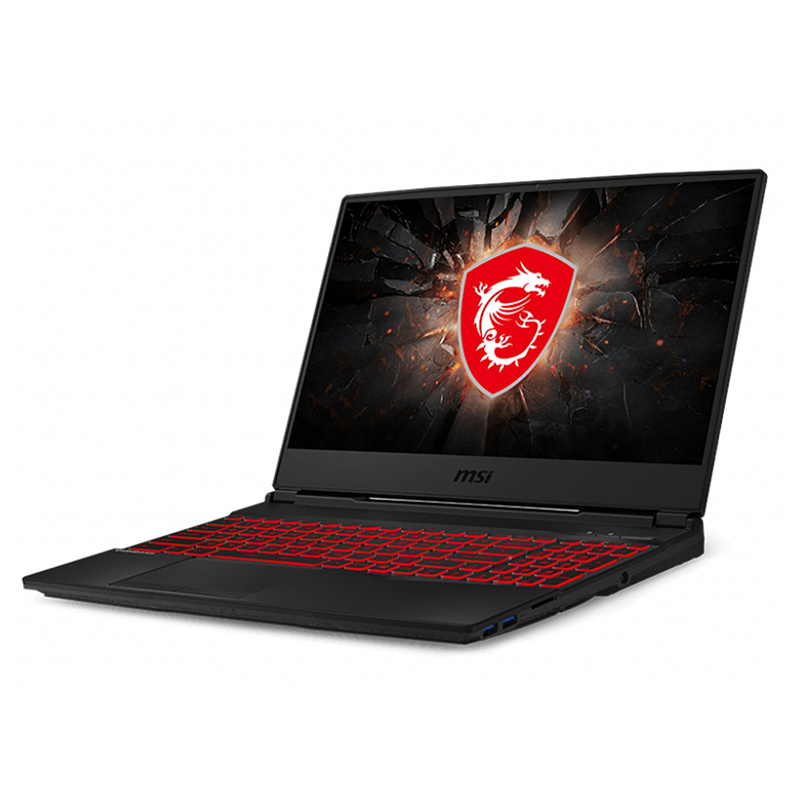 MSI GL65 Leopard 15.6in FHD IPS 144Hz i5-9300H GTX1650Ti 512GB SSD 8GB W10H Gaming Laptop (9SCSR-042AU)