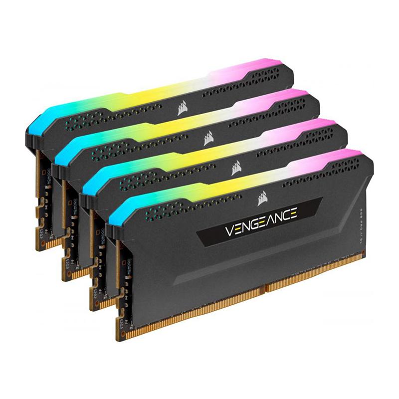 Corsair 32GB (4x8GB) CMH32GX4M4D3600C18 Vengeance RGB Pro SL 3600MHz DDR4 RAM