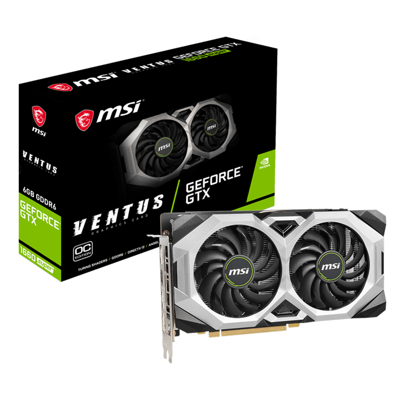 MSI GeForce GTX 1660 Super Ventus 6G OC Graphics Card