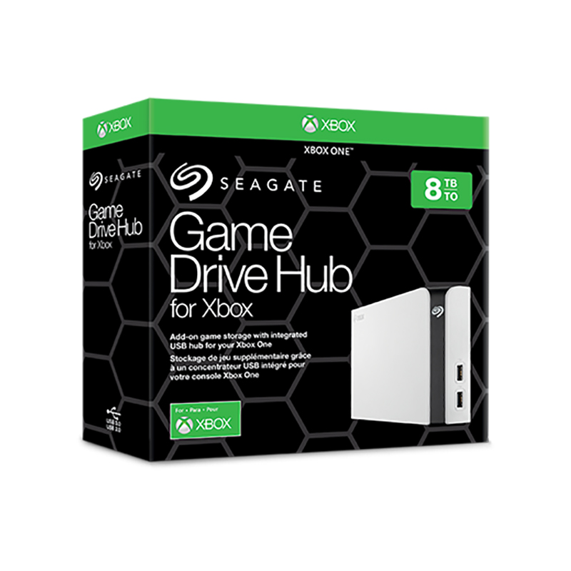 Seagate 8TB Game Drive Hub for Xbox 3.5in USB 3.0 External HDD