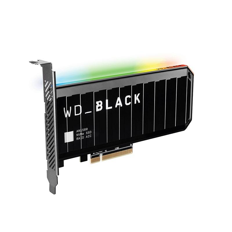 Western Digital 1TB Black AN1500 RGB NVMe PCIe 3.0 SSD