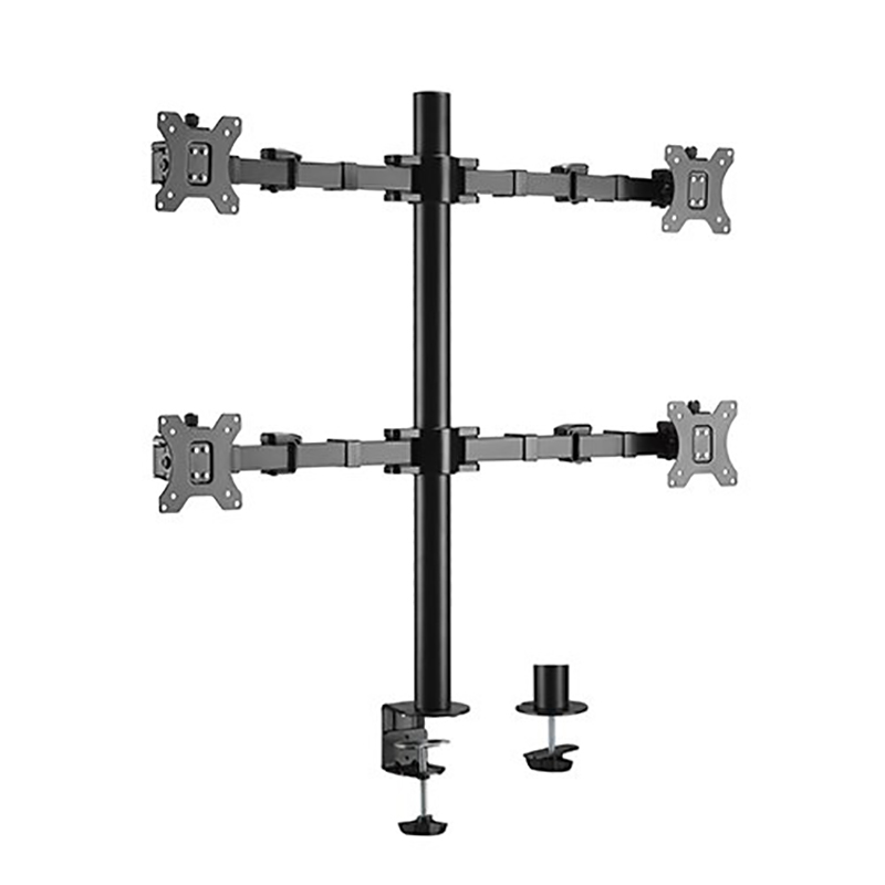 Brateck Quad Monitor Steel Articulating Monitor Arm