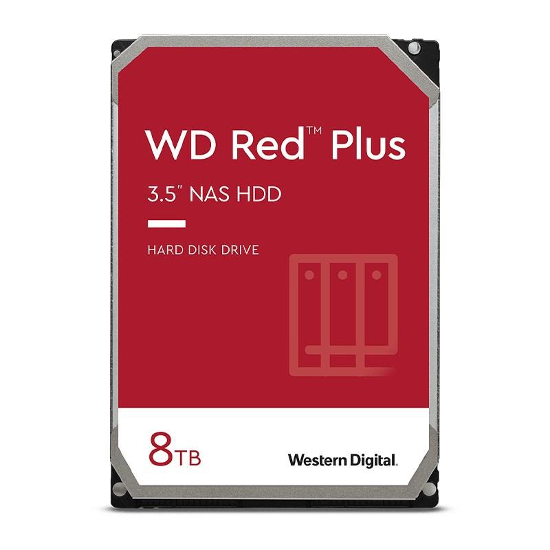 Western Digital 8TB Red Plus 3.5in SATA NAS Hard Drive (WD80EFBX)