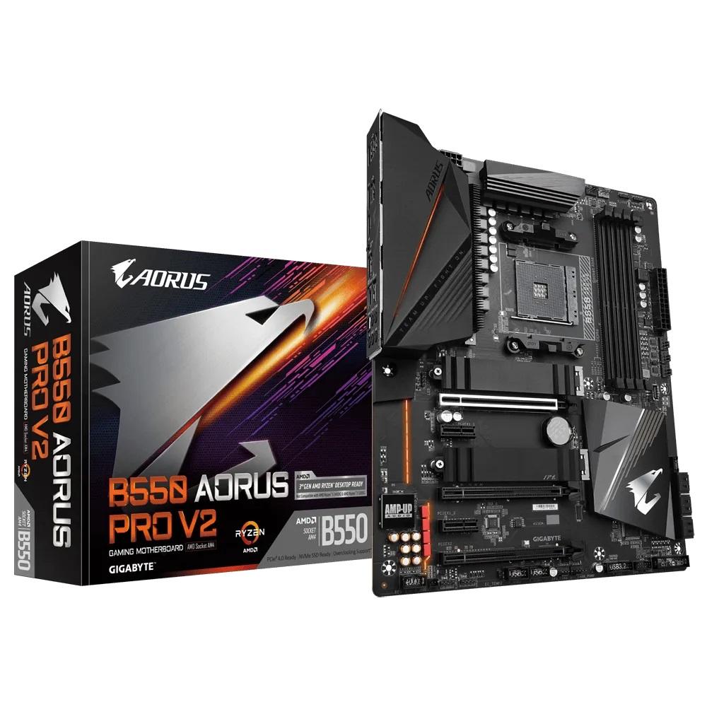 Gigabyte B550 Aorus Pro V2 AM4 ATX Motherboard