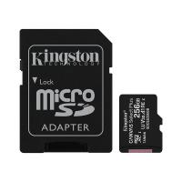 Kingston Canvas Select 256GB C10 100MB/s MicroSDXC Card