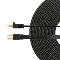 Edimax Cat8 40Gbe Shielded Flat Network Cable - 15m Black