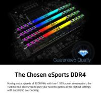 Silicon Power 32GB (2x16GB) 3200MHz Turbine Gaming Desktop Memory RGB DDR4 RAM