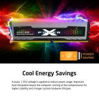 Silicon Power 32GB (2x16GB) SP032GXLZU320BDBAP 3200MHz Turbine Gaming Desktop Memory RGB DDR4 RAM