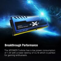 Silicon Power 32GB (2x16GB) 3200MHz Turbine Gaming Desktop Memory DDR4 RAM