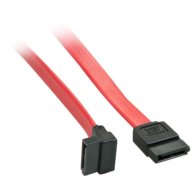 SATA 6.0Gps Data Cable Male Straight to Male Right Angle 50cm