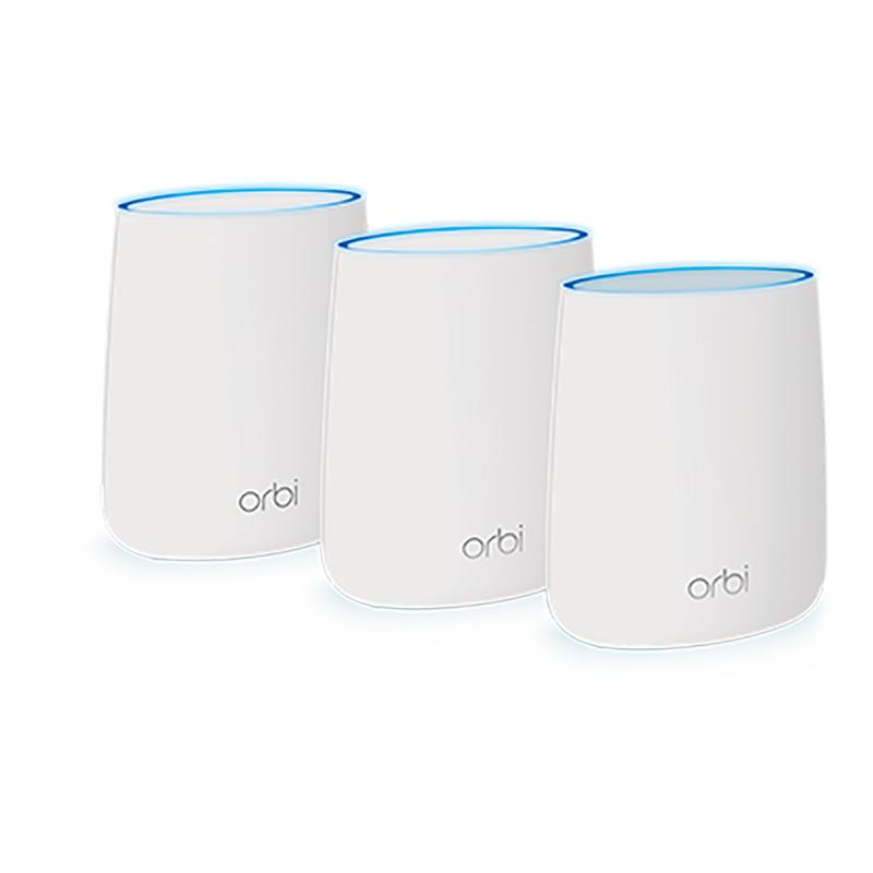 Netegear Orbi Whole Home AC 2200 Tri-Band WiFi System - 3Pack