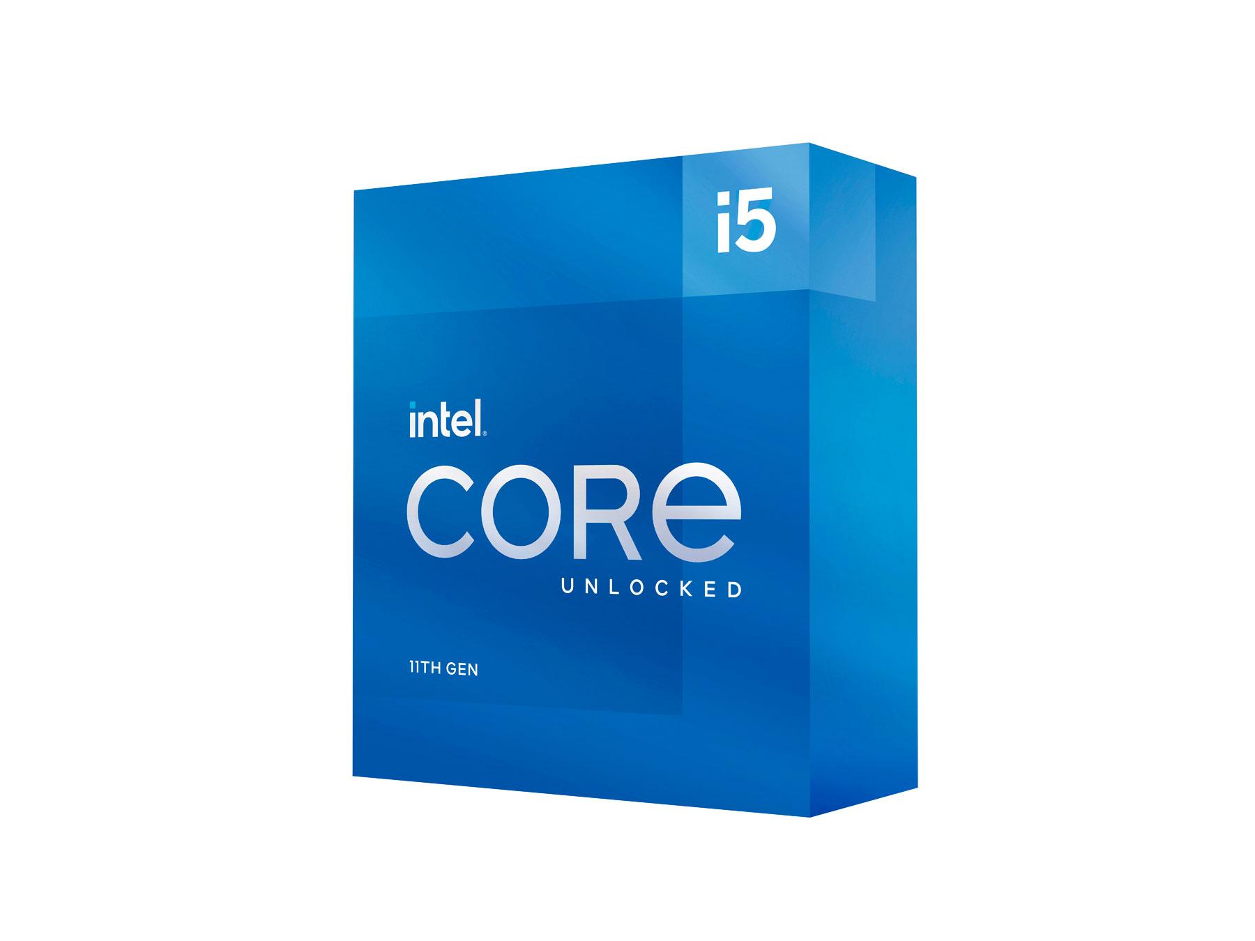 Intel Core i5 11600K 6 Core LGA 1200 3.9Ghz CPU Processor