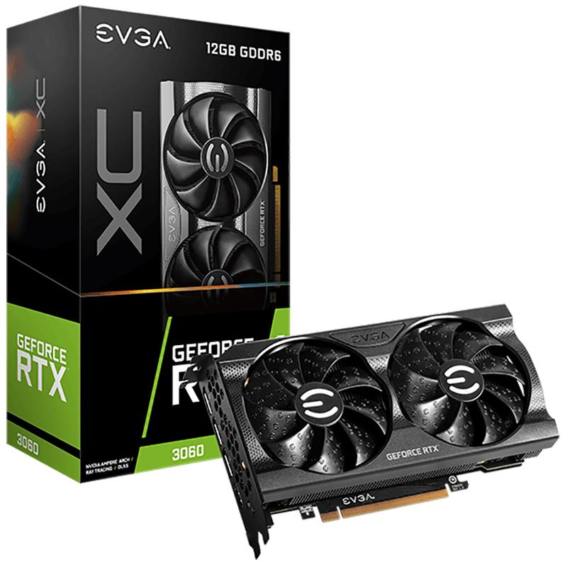 EVGA GeForce RTX 3060 XC Gaming 12G Graphics Card