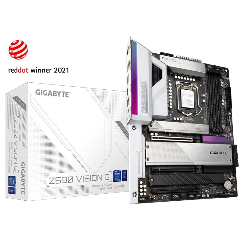 Gigabyte Z590 Vision G LGA 1200 ATX Motherboard