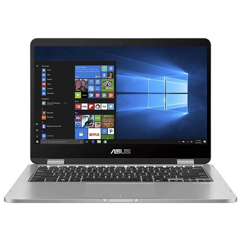 Asus VivoBook Flip 14in HD Touch Celeron N4020 128GB eMMC 4GB W10P Laptop (TP401MA-BZ235R)