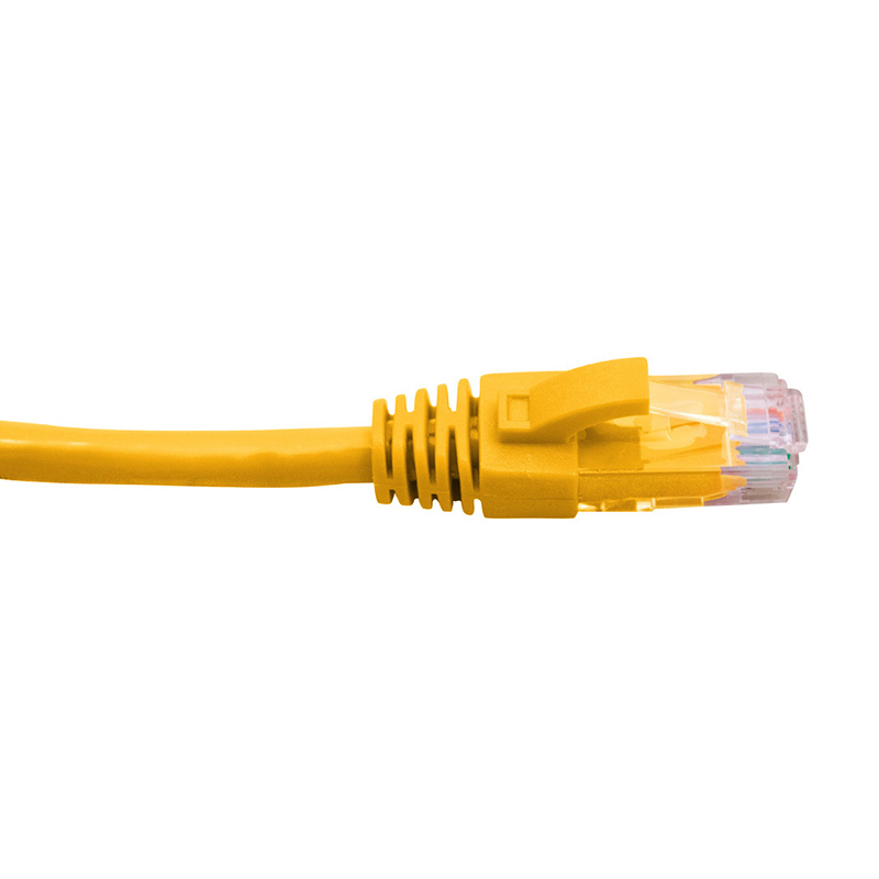 Cabac Cat 6 Ethernet Cable - 0.5m Yellow