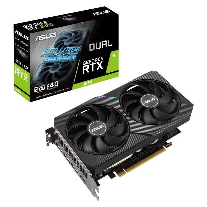 Asus Dual GeForce RTX 3060 12G OC Graphics Card