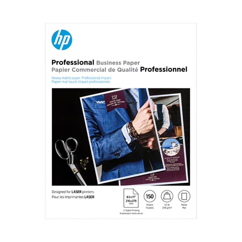HP Brochure 150 Sheet 200g Matte A4 Laser Paper