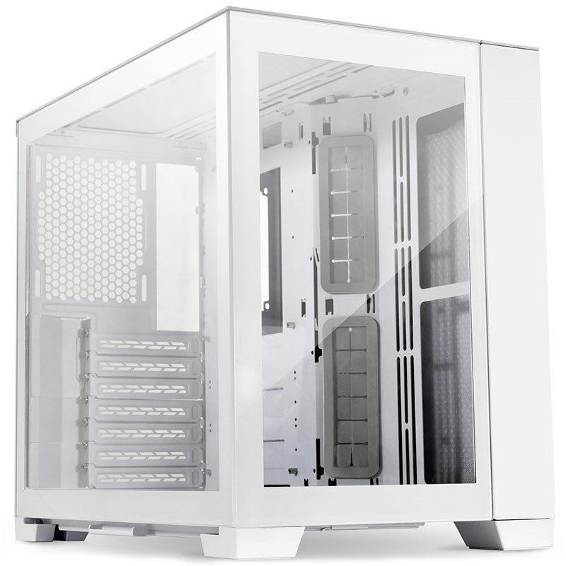 Lian Li PC-O11 Dynamic TG Mini ATX Case - Snow