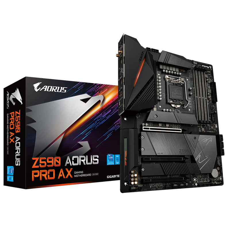 Gigabyte Z590 Aorus Pro AX LGA 1200 ATX Motherboard