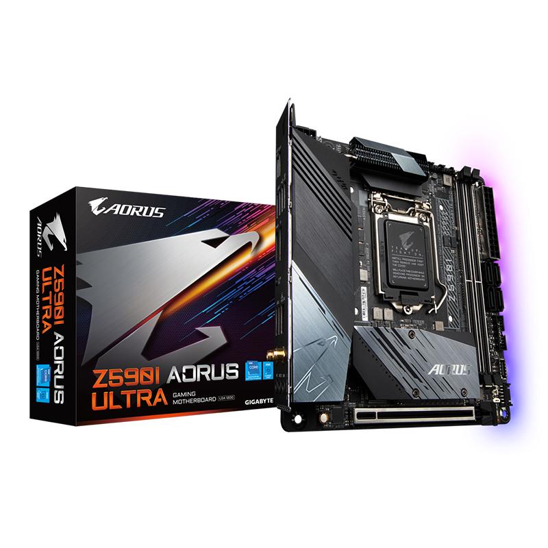 Gigabyte Z590I Aorus Ultra LGA 1200 ITX Motherboard