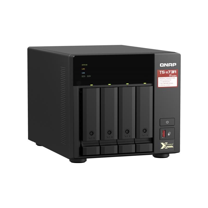 QNAP TS-473A 4 Bay Ryzen Quad Core 8GB NAS