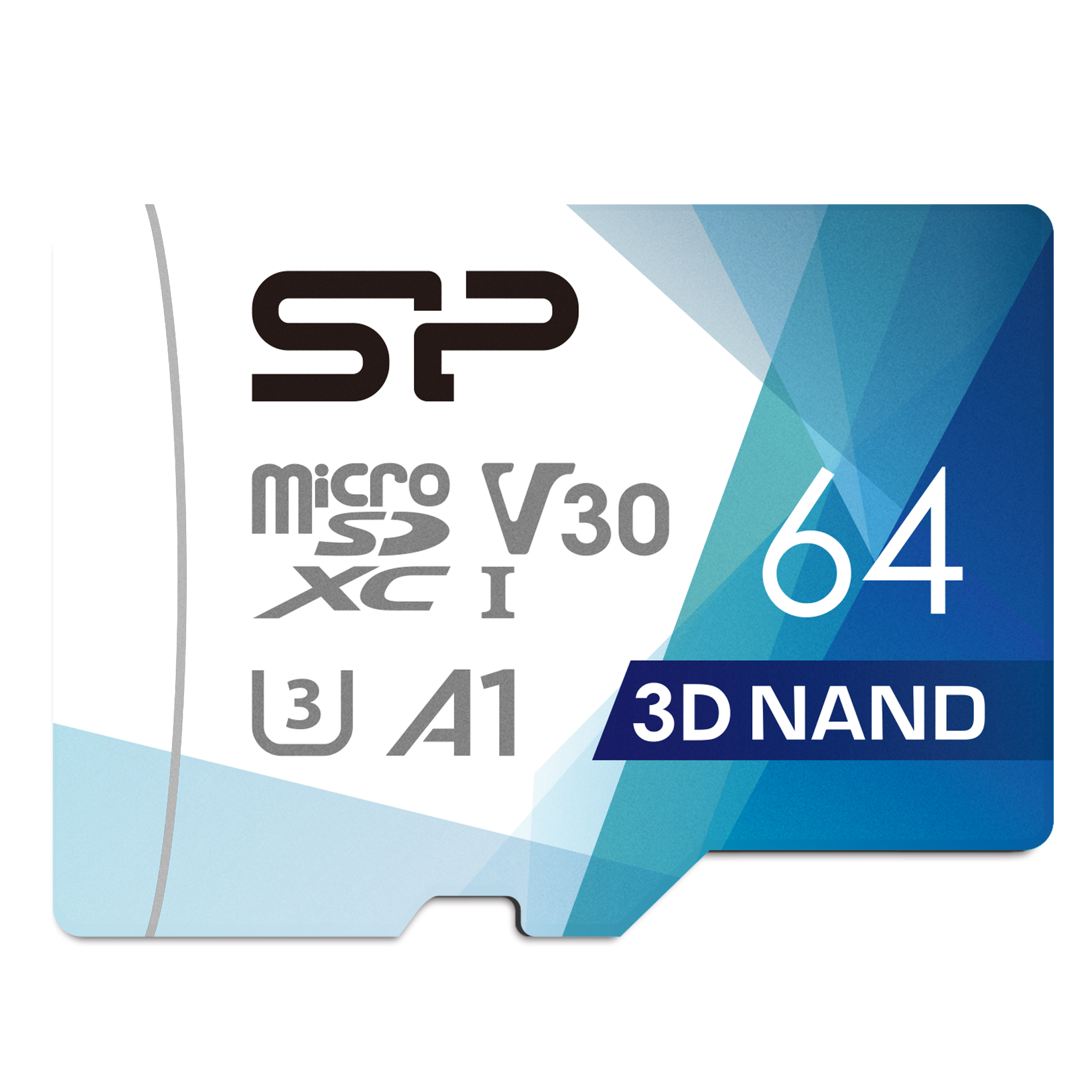 Silicon Power Superior PRO 4K/HD 64GB Micro SDXC Card 100MB/s Read & 80MB/s Write U3, C10, A1, V30 with Adapter