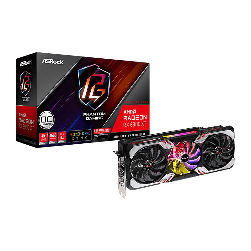 Asrock Radeon RX 6900 XT Phantom Gaming D 16G OC Graphics Card