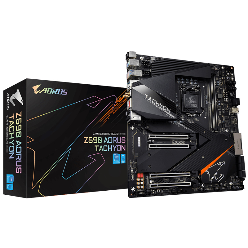 Gigabyte Z590 Aorus Tachyon LGA 1200 ATX Motherboard
