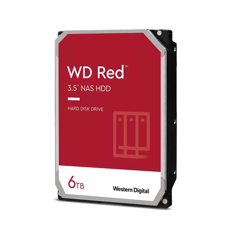Western Digital 6TB Red 3.5in SATA Hard Drive (WD60EFZX)