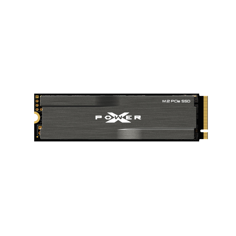 Silicon Power 1TB XD80 Gen3x4 TLC Heatsink R/W up to 3,400/3,000 MB/s PCIe M.2 NVMe SSD