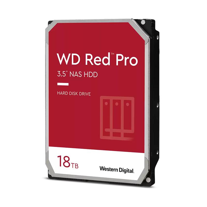 Western Digital 18TB Red 3.5in SATA 7200RPM Hard Drive (WD181KFGX)