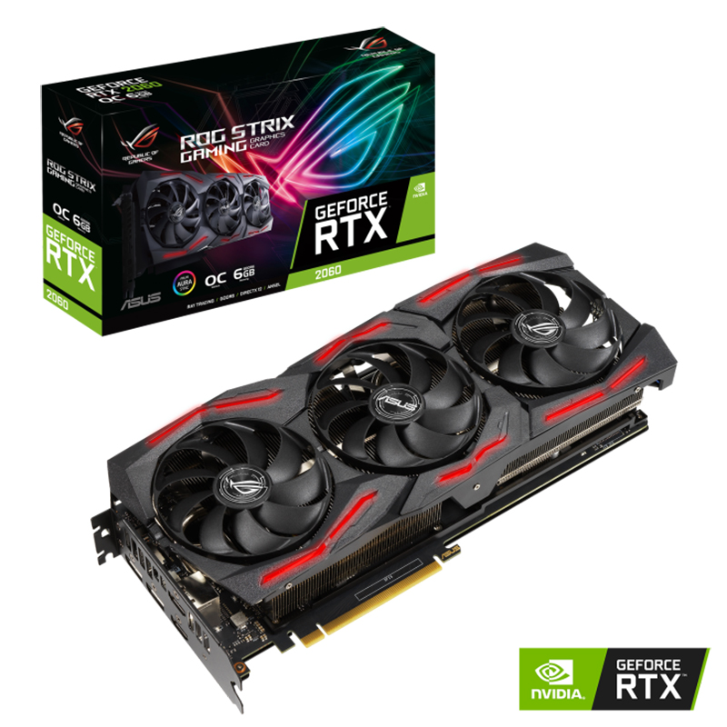 Asus ROG Strix GForce RTX 2060 EVO O6G V2 Graphics Card