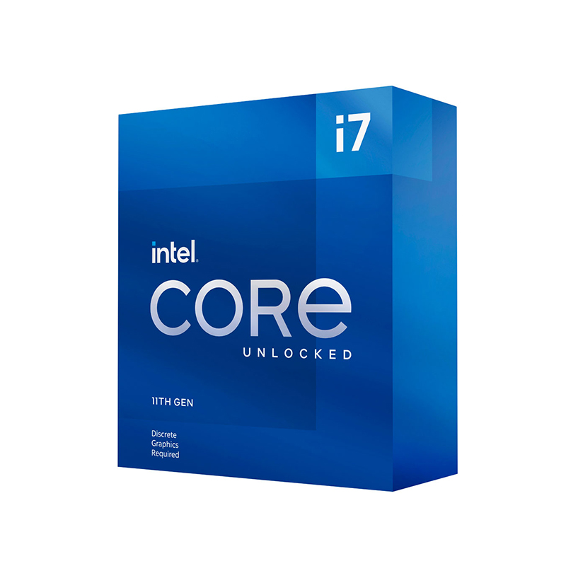 Intel Core i7-11700KF 8 Core LGA 1200 3.60GHz CPU Processor