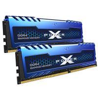 Silicon Power 16GB (2x8GB) SP016GXLZU360BDA 3600MHz Turbine Gaming Desktop Memory DDR4 RAM