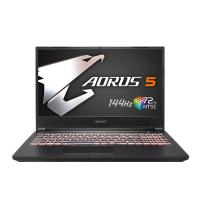 Gigabyte Aorus 15.6in FHD 144hz i5-10200H GTX1650Ti 512GB SSD 16GB W10H Gaming Laptop (MB-5AU1130SH)