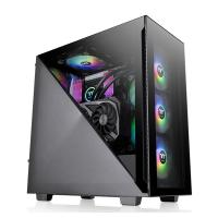 Thermaltake Divider 300 TG ARGB Mid Tower ATX Case - Black