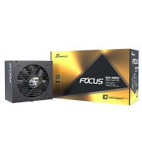 Seasonic 650W Focus 80+ Gold Modular Power Supply (FOCUS GX-650)