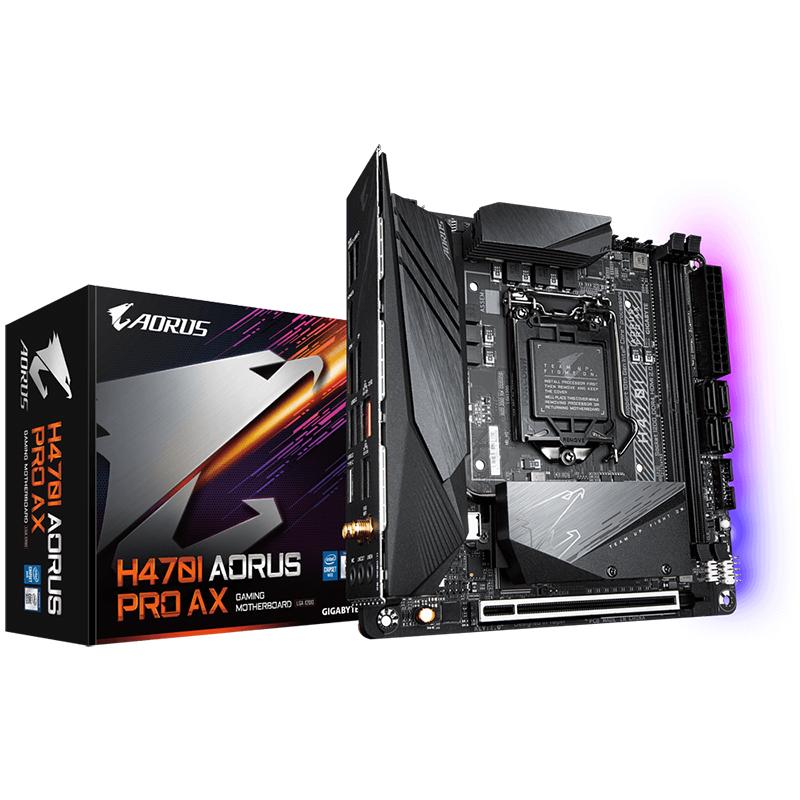 Gigabyte H470-I AORUS PRO AX LGA 1200 ITX Motherboard