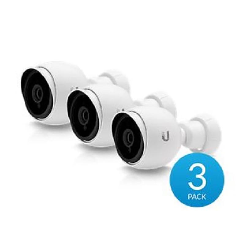 Ubiquiti UniFi G3 Bullet Infrared 1080p Video Camera - 3-Pack