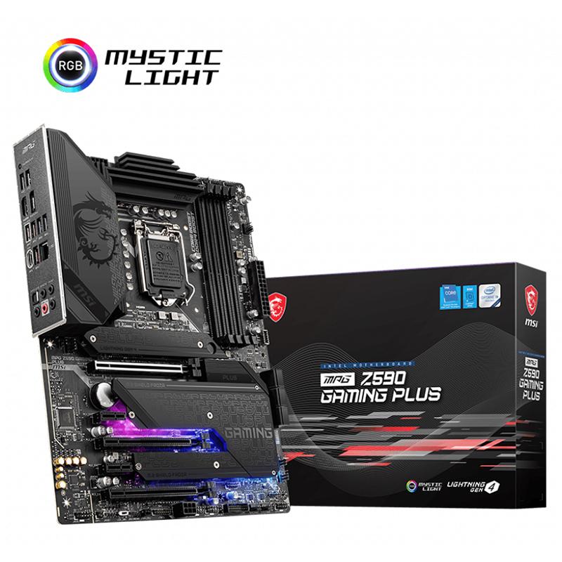 MSI MPG Z590 Gaming Plus LGA 1200 ATX Motherboard