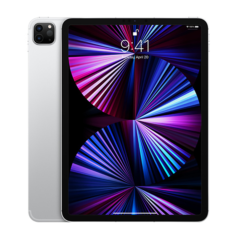 Apple 11 inch iPad Pro - Apple M1 WiFi + Cellular 512GB - Silver (MHWA3X/A)